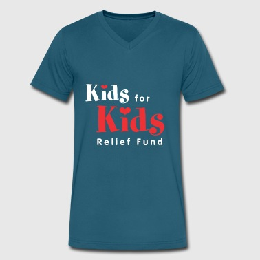 Kids For Kids - Men's V-Neck T-Shirt by Canvas