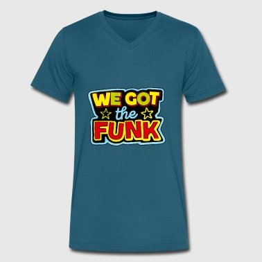 funk - Men's V-Neck T-Shirt by Canvas