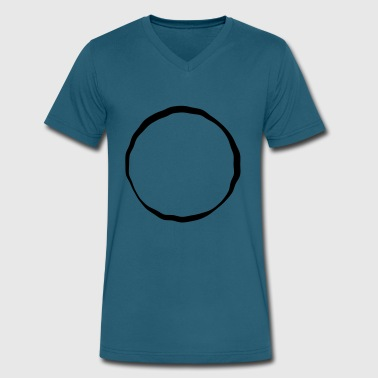 Circle Of Death Circle of Life - Men's V-Neck T-Shirt by Canvas