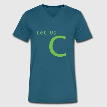 Let us see - Men's V-Neck T-Shirt by Canvas