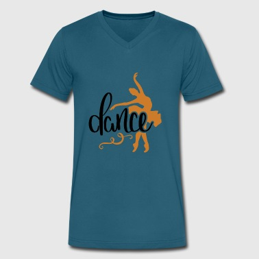dance ballet - Men's V-Neck T-Shirt by Canvas
