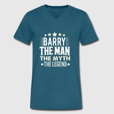 Barrie Barry - Men's V-Neck T-Shirt by Canvas