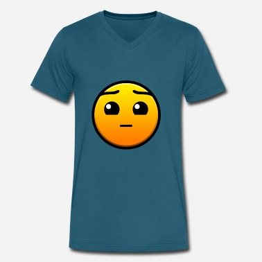 Dash Geometry Dash - Men's V-Neck T-Shirt by Canvas
