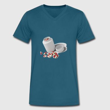 Drugs - Men's V-Neck T-Shirt by Canvas