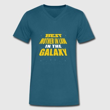 Best Mother In Law In The Galaxy - Men's V-Neck T-Shirt by Canvas