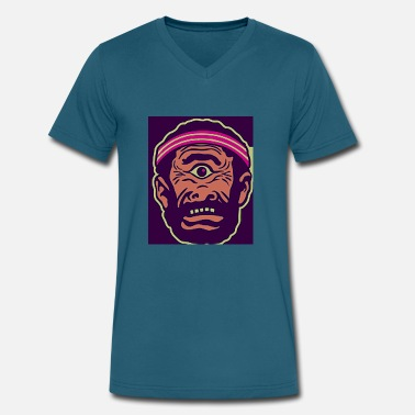 Cyclops cyclopes - Men's V-Neck T-Shirt by Canvas