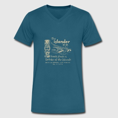The Islander - Men's V-Neck T-Shirt by Canvas