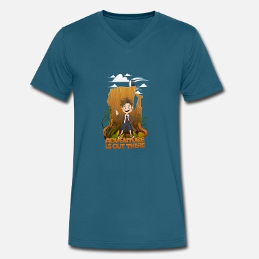 Kids Doctor Adventure is out there, When the doctor was a kid - Men's V-Neck T-Shirt by Canvas