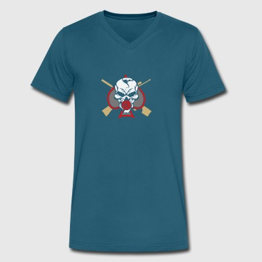 STITCS Version - Men's V-Neck T-Shirt by Canvas