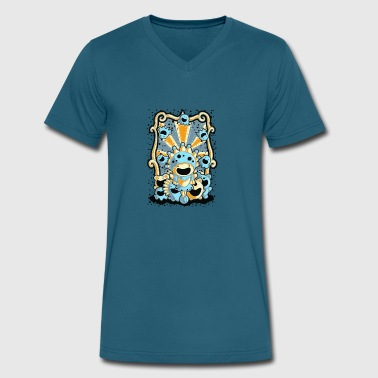 Circus Animal circus - Men's V-Neck T-Shirt by Canvas