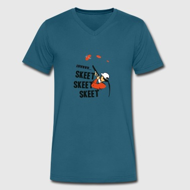 Skeet Skeet Skeet Skeet Skeet Skeet - Men's V-Neck T-Shirt by Canvas