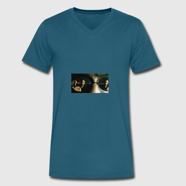 red or blue pill - Men's V-Neck T-Shirt by Canvas