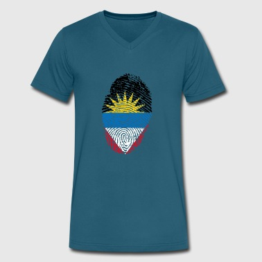 antigua - Men's V-Neck T-Shirt by Canvas