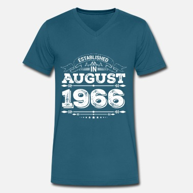 Established in August 1966 - Men's V-Neck T-Shirt
