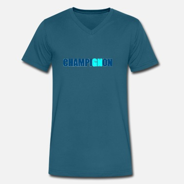 Champignon champignon - Men's V-Neck T-Shirt by Canvas