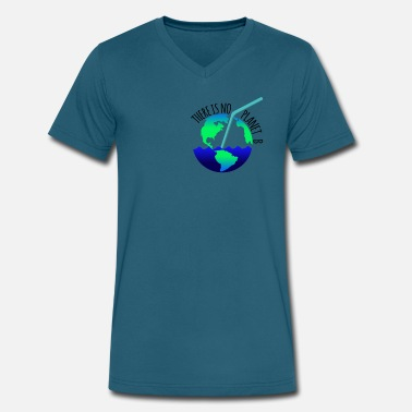 Planet B There is no planet B! - Men's V-Neck T-Shirt by Canvas