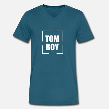 Tom-tom TOM - Men's V-Neck T-Shirt by Canvas