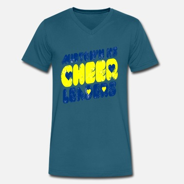 Band Leader Midtown HS Cheer Leaders - Men's V-Neck T-Shirt by Canvas