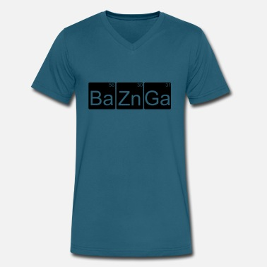 Bazinga Big Bang Theory Bazinga ! Big Bang Theory - Men's V-Neck T-Shirt by Canvas