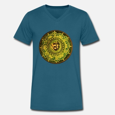 Nepal Mandala yes - Men's V-Neck T-Shirt