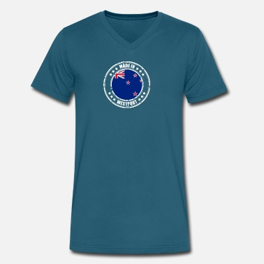 Westport MADE IN WESTPORT - Men's V-Neck T-Shirt by Canvas