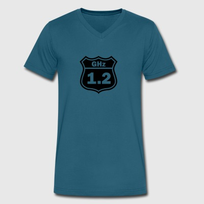 1.2GHz Road - Men's V-Neck T-Shirt by Canvas