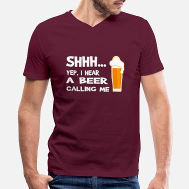 Funny Beer T-Shirts - Men's V-Neck T-Shirt