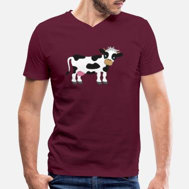 Bestselling cow - Men's V-Neck T-Shirt