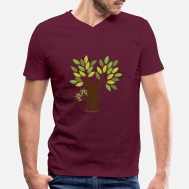 Tree Tree - Men's V-Neck T-Shirt