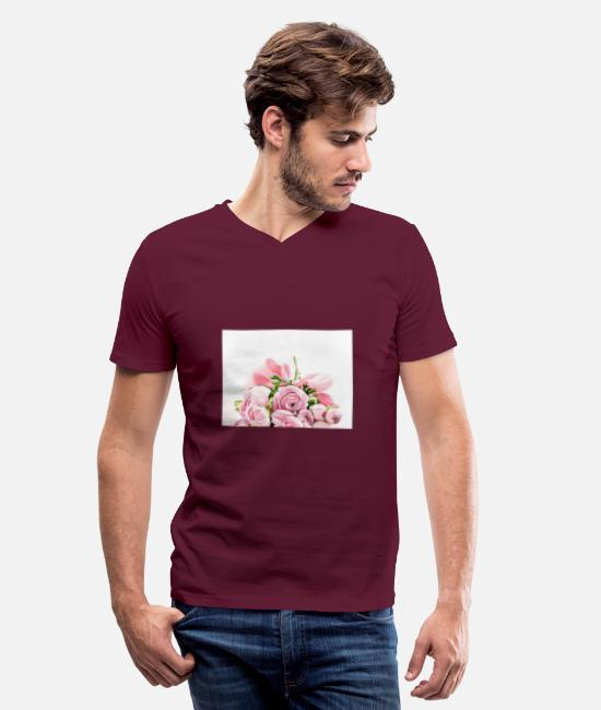 Love T-Shirts - 30 Birthday - Special Occasion - Men's V-Neck T-Shirt maroon