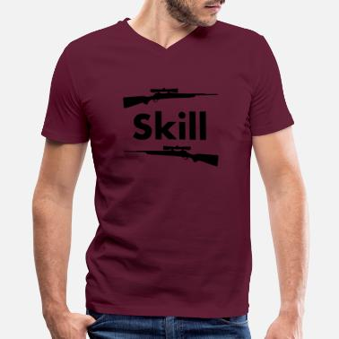Skilling skills - Men's V-Neck T-Shirt