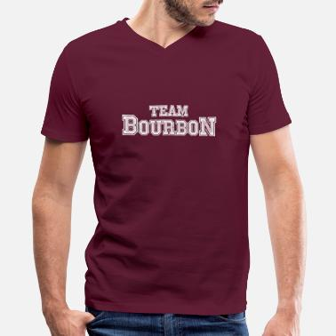 Team Bourbon - Men's V-Neck T-Shirt