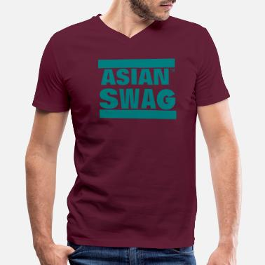 Asian ASIAN SWAG - Men's V-Neck T-Shirt