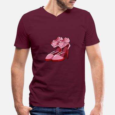 Highheels highheels - Men's V-Neck T-Shirt
