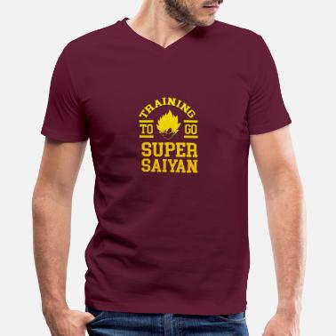 Super Training Super SaiyanTraining Super Saiyan - Men's V-Neck T-Shirt