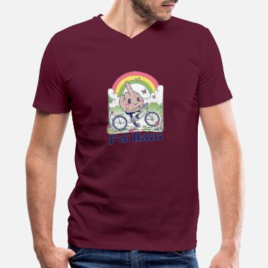 Respect The Beard Moustache Tumblr cool Kids Boy Girls Unisex Top T-Shirt 708