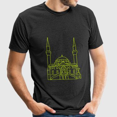Sehitlik Mosque Berlin - Unisex Tri-Blend T-Shirt