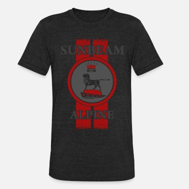 Mg Sunbeam Alpine Racing - Unisex Tri-Blend T-Shirt