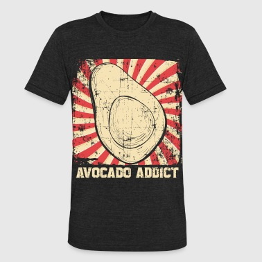Avocado Addict Avocado Addict - Unisex Tri-Blend T-Shirt