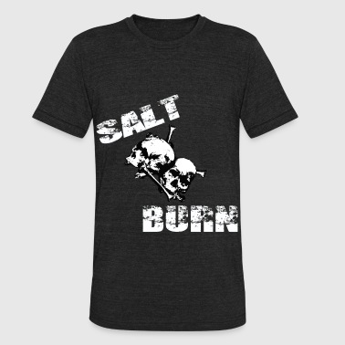 Salt and Burn Skullz 3  - Unisex Tri-Blend T-Shirt