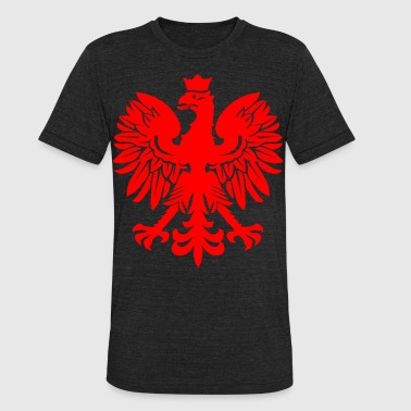 Polish Red Eagle - Unisex Tri-Blend T-Shirt