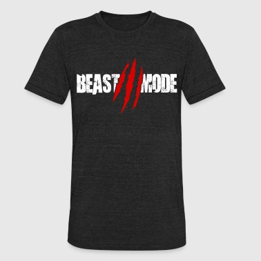 Beast Functional Gym Training Workout Fitness Stre - Unisex Tri-Blend T-Shirt