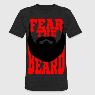 Fear the Beard - Unisex Tri-Blend T-Shirt