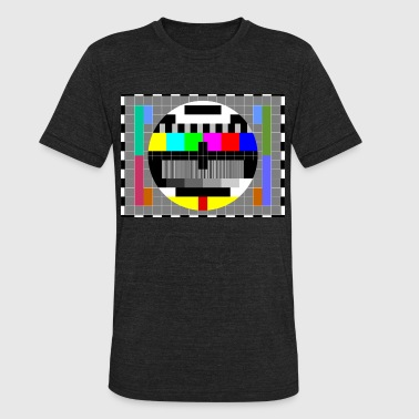 TV Test pattern - Unisex Tri-Blend T-Shirt