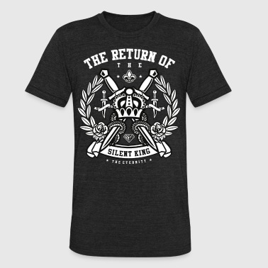 The Return of the Silent King - Unisex Tri-Blend T-Shirt