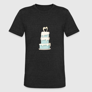Wedding Cake Wedding Cake - Unisex Tri-Blend T-Shirt