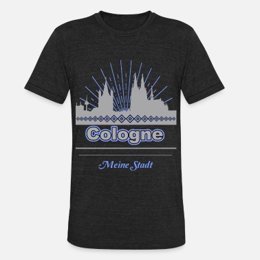 Cologne Cathedral Cologne - Unisex Tri-Blend T-Shirt