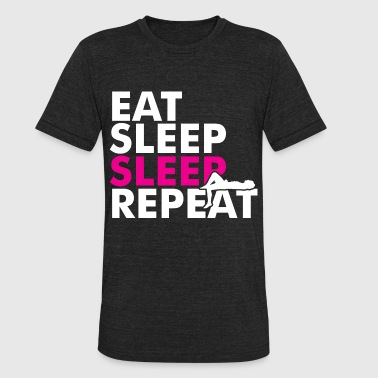 Eat Sleep Sleep Repeat - Unisex Tri-Blend T-Shirt