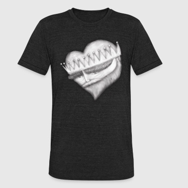 King of Hearts - Unisex Tri-Blend T-Shirt