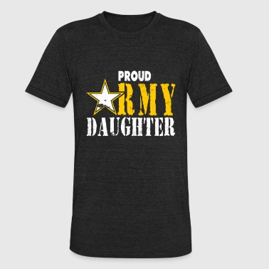 Army Daughter Tshirt Army Girls Shirt Army Kids - Unisex Tri-Blend T-Shirt